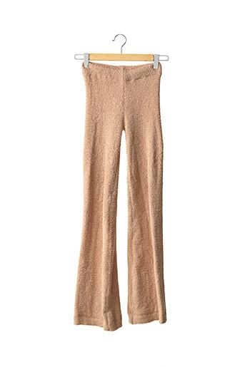 Pantalon casual beige PRETTY LITTLE THING pour femme