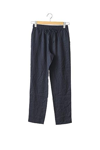 Pantalon casual bleu B.SOLFIN pour femme
