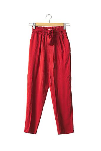 Pantalon casual rouge BEST MOUNTAIN pour femme
