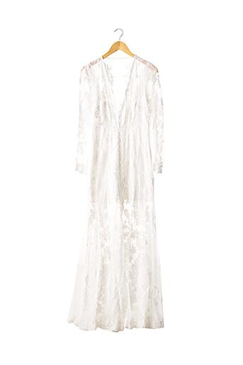 Robe longue blanc ASOS pour femme