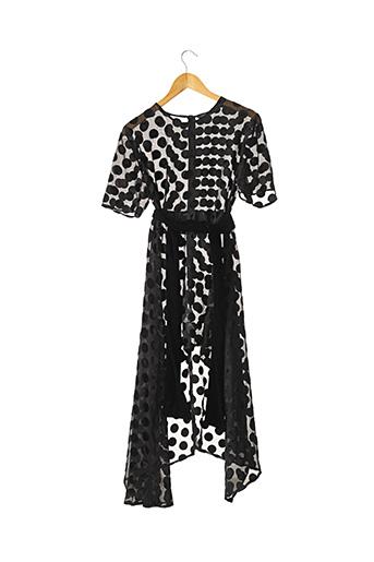Robe mi-longue noir ZARA pour femme