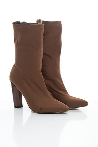 Bottines/Boots marron EGO pour femme