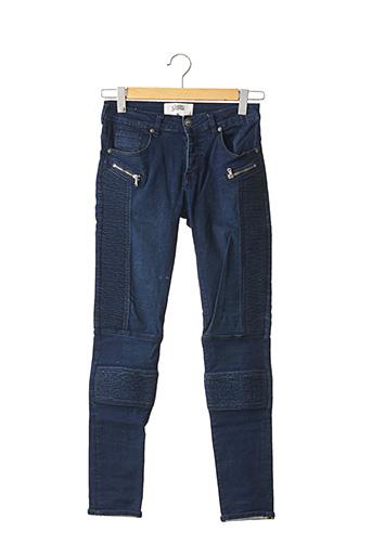 Jeans coupe slim bleu SIXTH JUNE pour homme