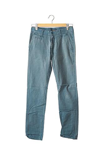 Pantalon casual bleu THREENITY pour homme