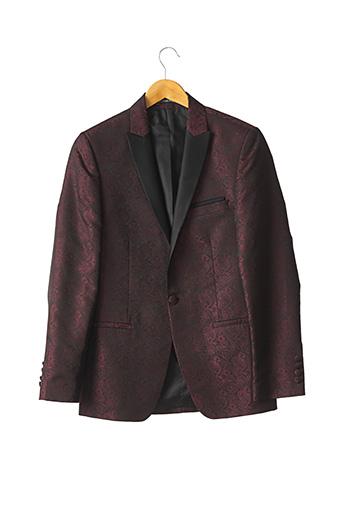Veste chic / Blazer rouge BARBERINI pour homme