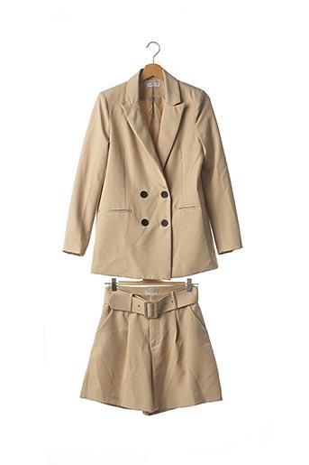 Veste/pantalon beige LOAVIES pour femme