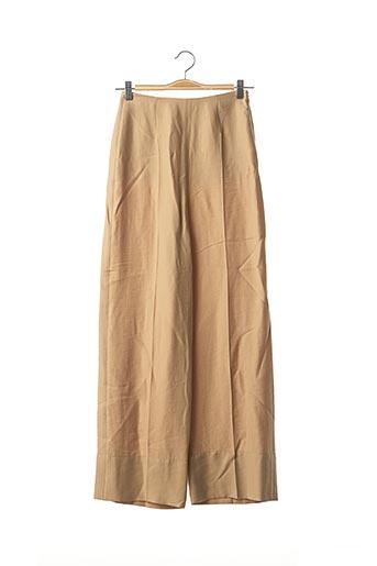 Pantalon casual beige & OTHER STORIES pour femme