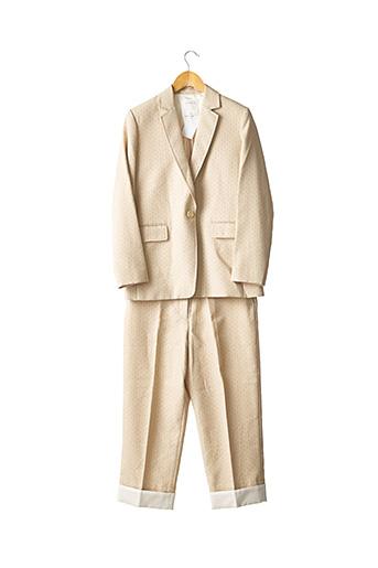 Pull/pantalon beige SANDRO pour femme