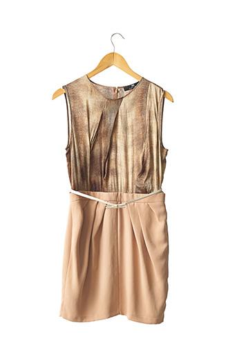 Robe courte beige ELISABETTA FRANCHI pour femme