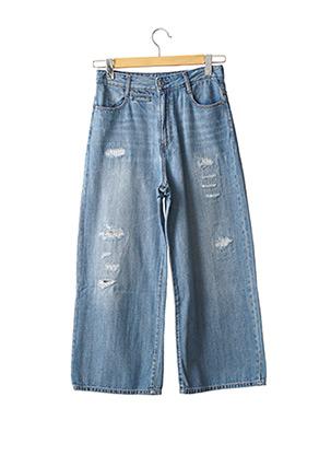 Jeans coupe large bleu G STAR pour femme