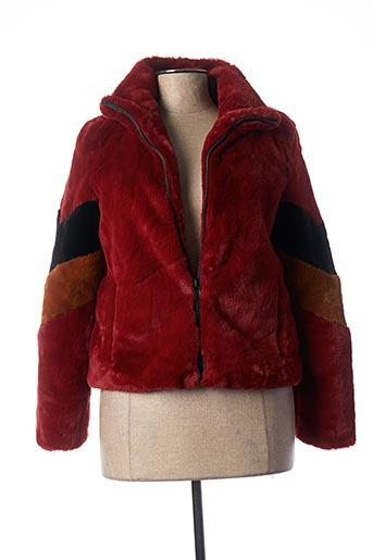 Veste casual rouge NOISY MAY pour femme