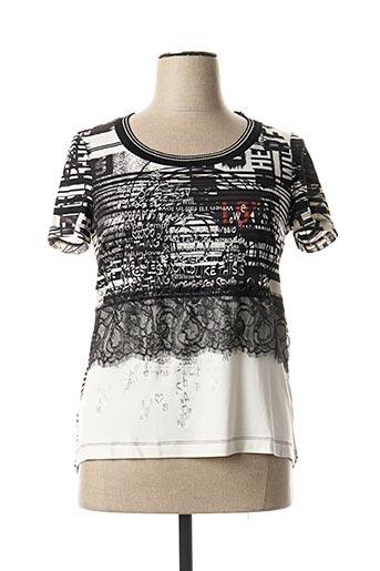 T-shirt manches courtes noir EROKE pour femme