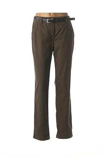 Pantalon casual vert GERRY WEBER pour femme