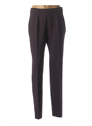 Pantalon casual violet KARTING pour femme