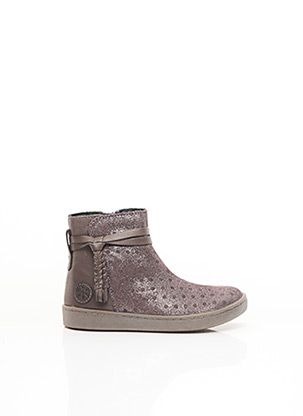 Bottines/Boots beige ASTER pour fille