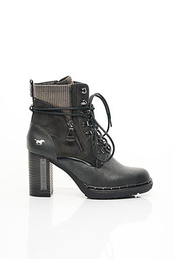 Bottines/Boots gris MUSTANG pour femme