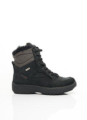 Bottines/Boots noir ELEMENTERRE pour femme