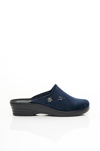Chaussons/Pantoufles bleu FLY FLOT pour femme