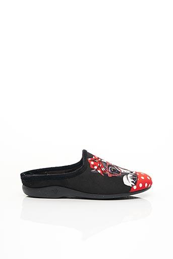 Chaussons/Pantoufles noir ELUE PAR NOUS pour femme