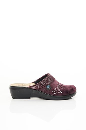 Chaussons/Pantoufles violet FLY FLOT pour femme
