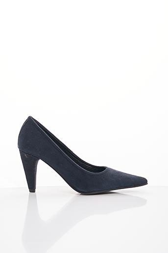 Escarpins bleu ELIZABETH STUART pour femme
