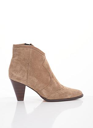 Bottines/Boots beige CARDENAL pour femme