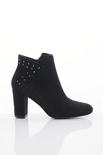 Bottines/Boots noir BLU VELVET pour femme
