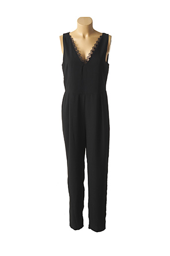 Combi-pantalon noir MOLLY BRACKEN pour femme