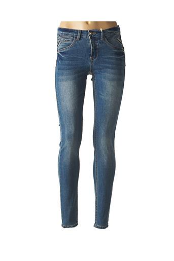 Jeans skinny bleu CREAM pour femme