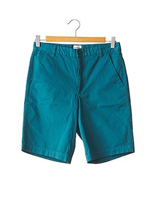 Bermuda bleu HARRIS WILSON pour homme