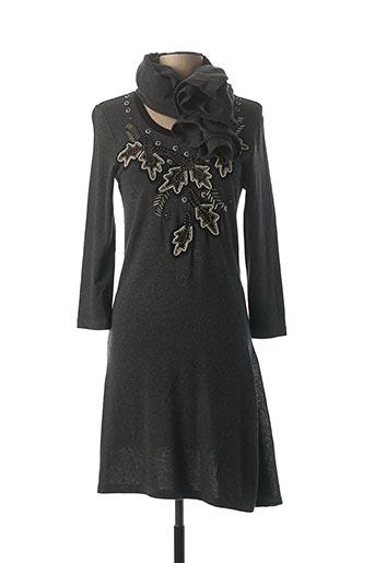 Robe pull gris BLEU BLANC ROUGE pour femme