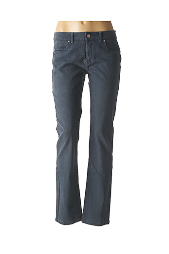Jeans coupe droite bleu TRUSSARDI JEANS pour femme