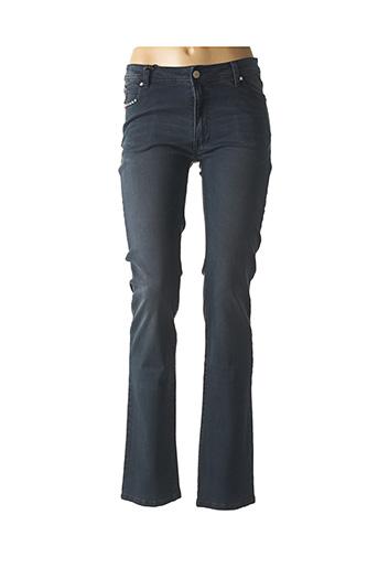 Jeans coupe slim bleu GARELLA pour femme