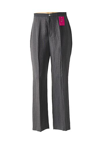 Pantalon casual bleu BATISTE pour femme