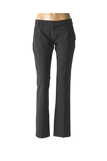 Pantalon casual gris LA FEE MARABOUTEE pour femme