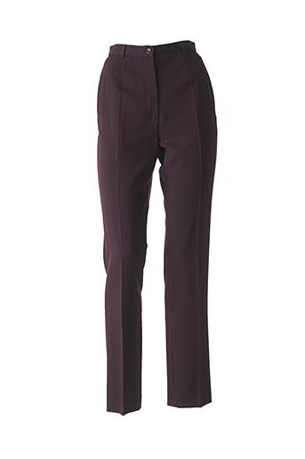 Pantalon casual violet GERARD DAREL pour femme