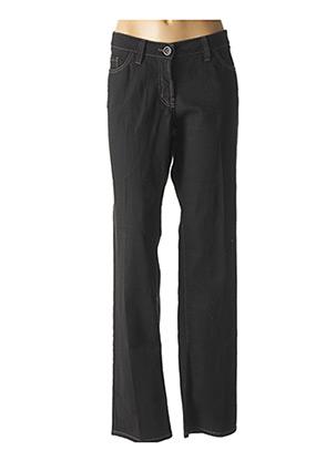 Pantalon casual noir AIRFIELD pour femme