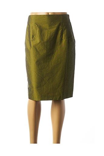 Jupe mi-longue vert BLEU BLANC ROUGE pour femme