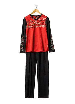 Pyjama noir SENORETTA pour femme