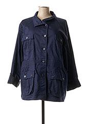 Veste casual bleu QUATRE VINGT JOURS pour femme seconde vue