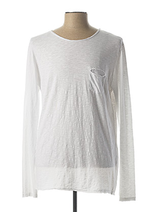 T-shirt manches longues blanc IMPERIAL pour homme