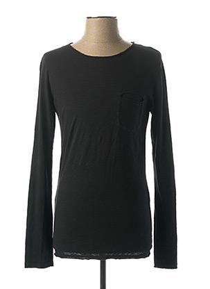 T-shirt manches longues noir IMPERIAL pour homme