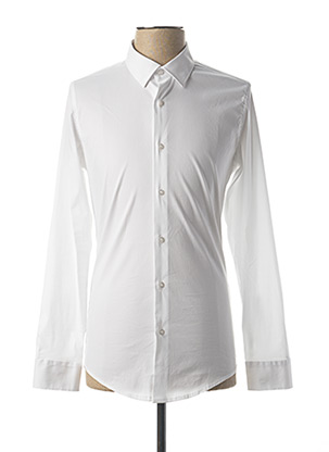 Chemise manches longues blanc IMPERIAL pour homme