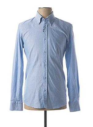 Chemise manches longues bleu IMPERIAL pour homme