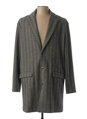 Manteau long gris IMPERIAL pour homme