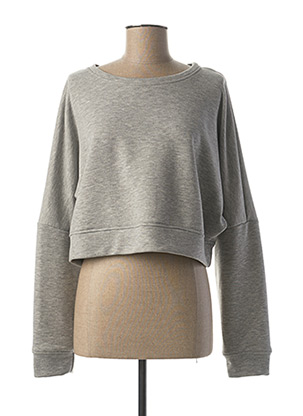 Sweat-shirt gris DIXIE pour femme