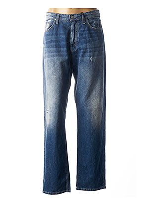 Jeans coupe large bleu PLEASE pour femme