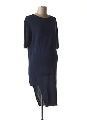 Robe pull bleu MENONOVE pour femme
