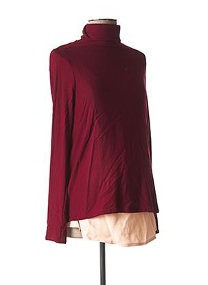 Sous-pull rouge POMKIN pour femme