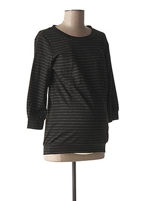 Sweat-shirt noir FRAGILE pour femme